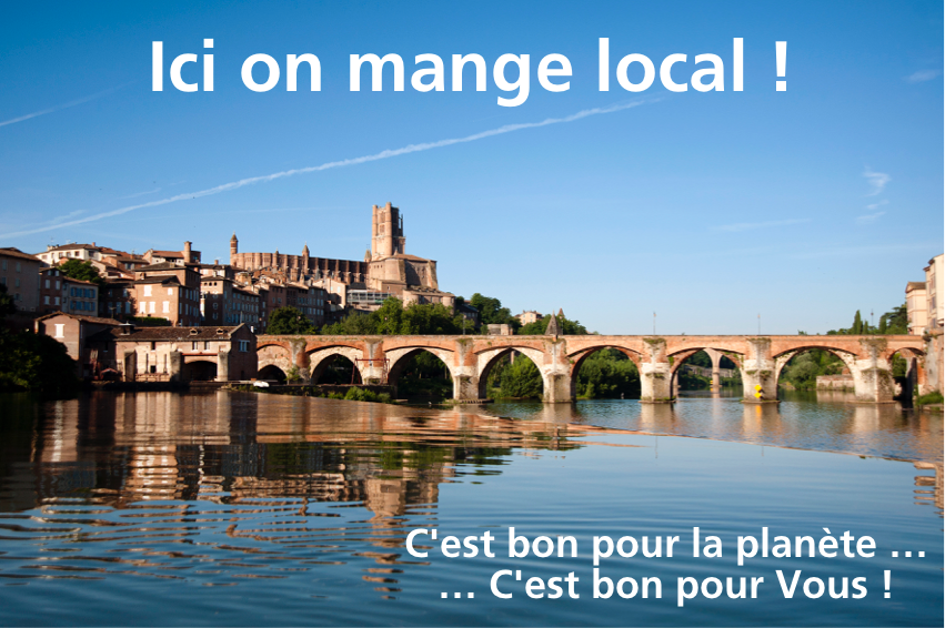 Ici on mange local